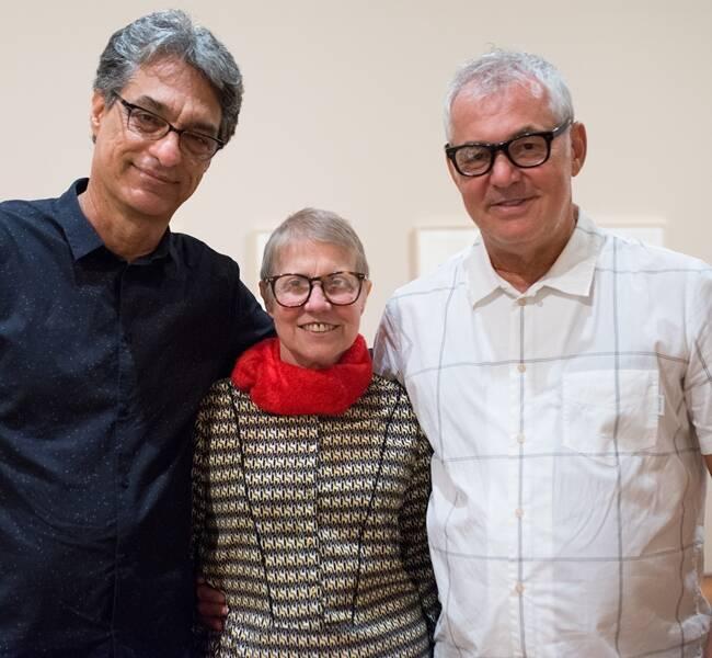 Evandro Salles, Brigita Baltar e Marcos Chaves