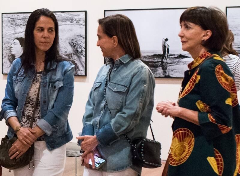 Martha Fadel Lobão, Bebel Niemeyer e Mara Fainziliber