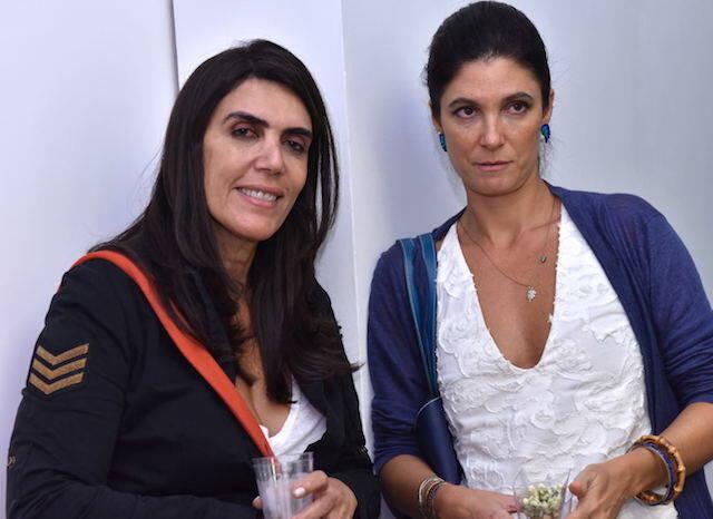 Inah Arruda e Adriana Quattrone