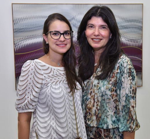 Luiza Gouvêa Vieira e Anamaria Moura