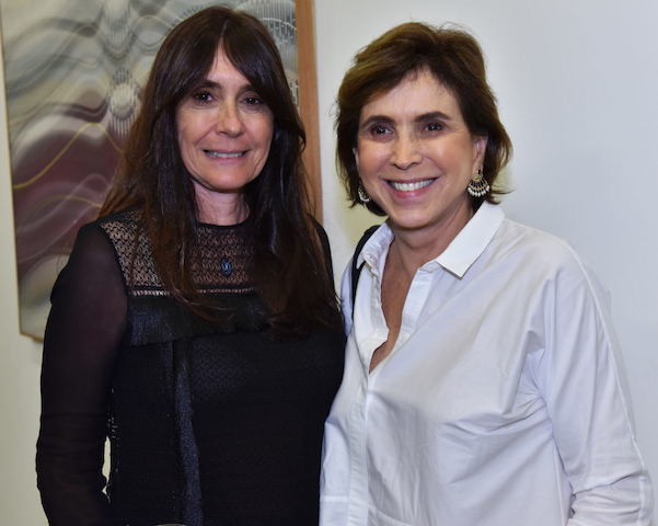 Claudia Ferraz e Beth Vianna Pinto