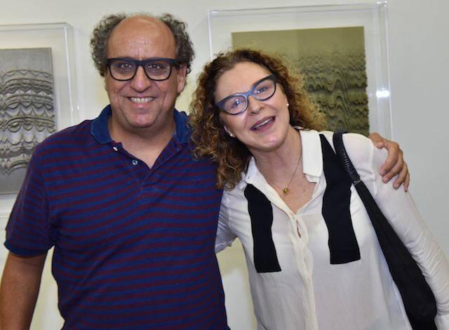 Luiz Camillo Osório e Marisa Abate