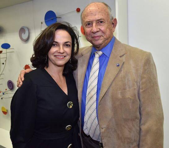 Rosa Marques Moreira e Marcílio Marques Moreira