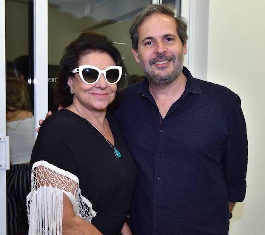 Cristina Burlamaqui e Alexandre Roesler
