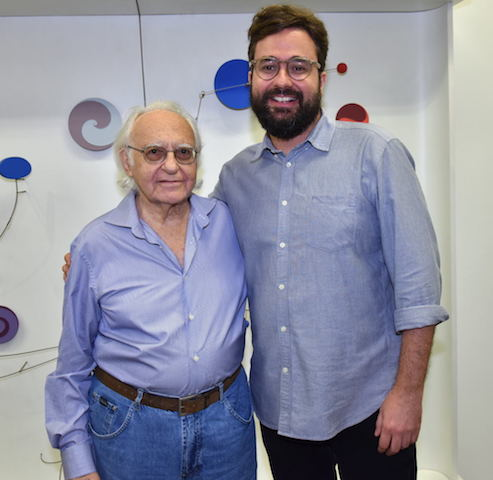 Abraham Palatnik e Felipe Scovino