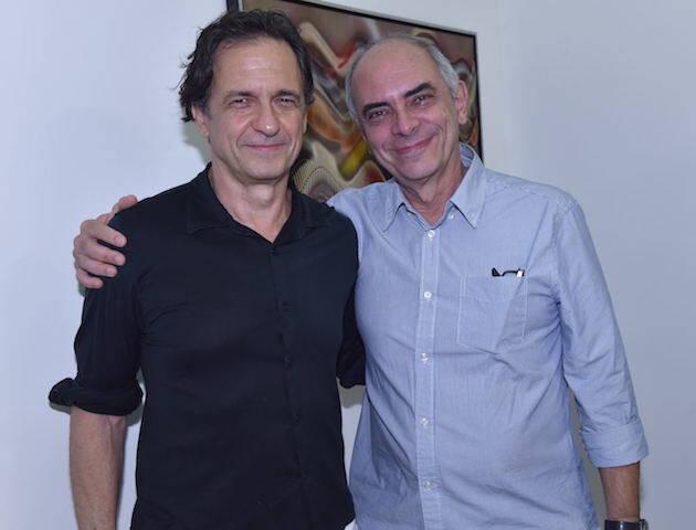 Daniel Senise e Milton Machado