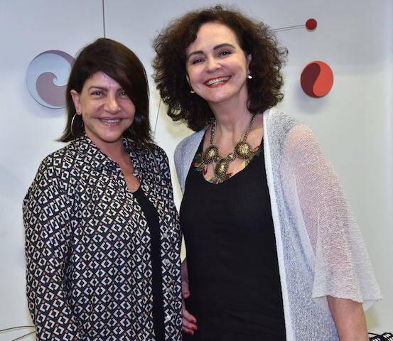 Ana Lobato e Mônica Corteletti