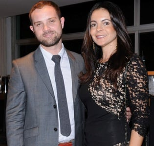 Daniel Warner e Isabela Menezes
