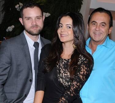 Daniel Warner, Isabela Menezes e Ricardo Rique