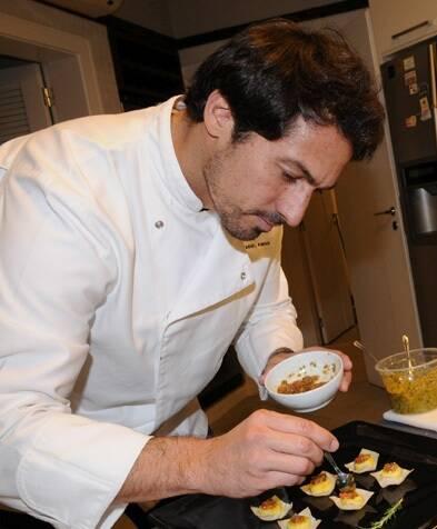 O chef Daniel Pinho