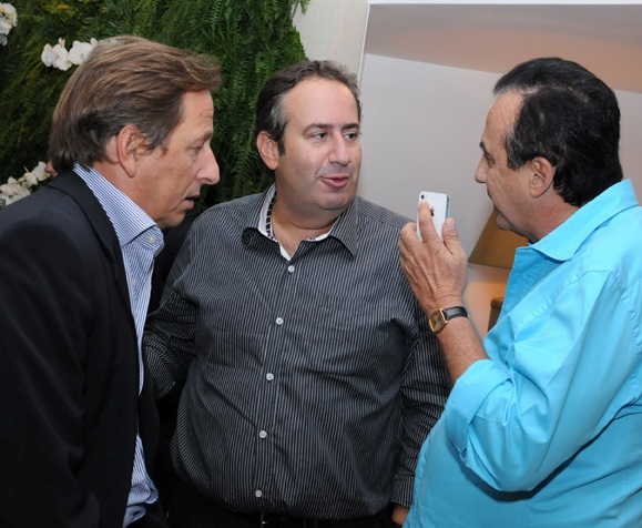 Janyck Daudet, Rodrigo Conde Caldas e Ricardo Rique