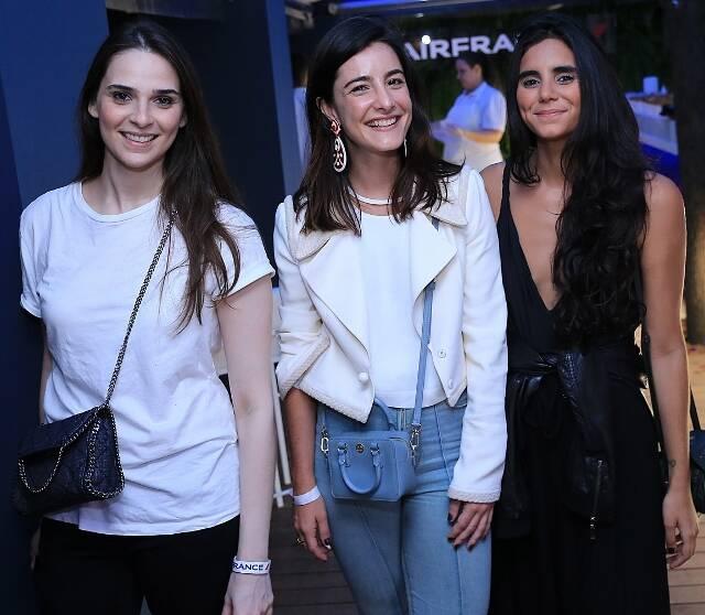 Jessica Streat, Bebel Sader e Philipa Fontenelle