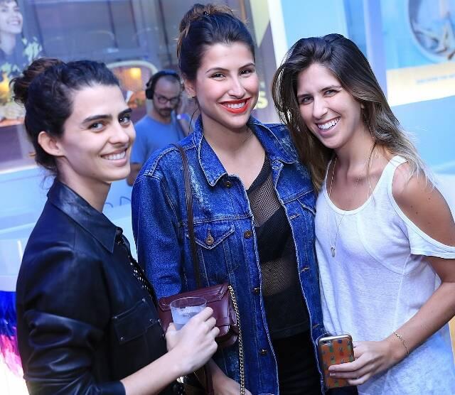 Carol Machado, Lara D'Avila e Mariana Sang