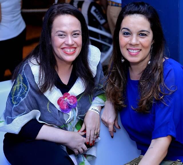 Ana Carolina Leticheusky e Simone Bloris