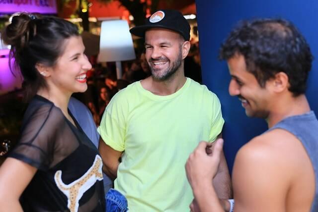 Lara D'Avila, André Carvalhal e André Felipe