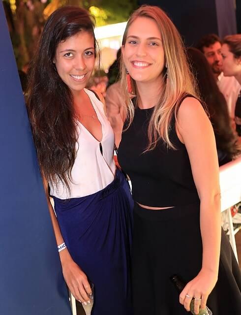 Thais Alves e Fernanda Lopes