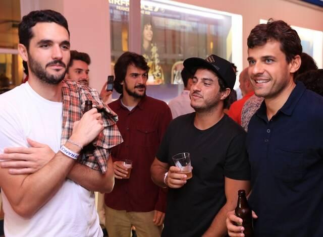 Henrique Dart, Felipe Amorim e Thiago Moraes