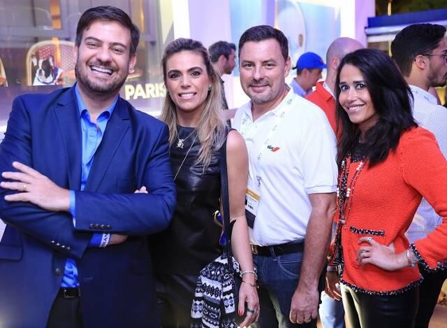 Bruno Astuto, Joana Furtado, Hugues Heddebault e Paula Severiano Ribeiro