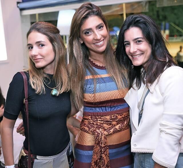 Georgia Bonisson, Lu D'Ângelo e Bebel Sader
