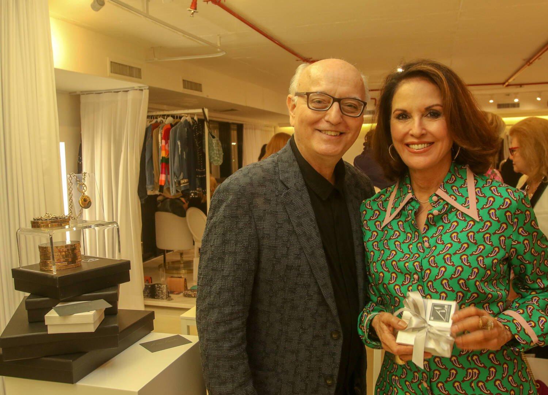 Alberto Sabino e Regina Martelli / Foto: Eny Miranda