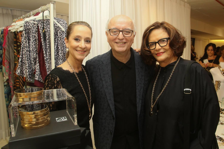 Ana Botafogo, Alberto Sabino e Heloisa Buarque de Hollanda / Foto: Eny Miranda