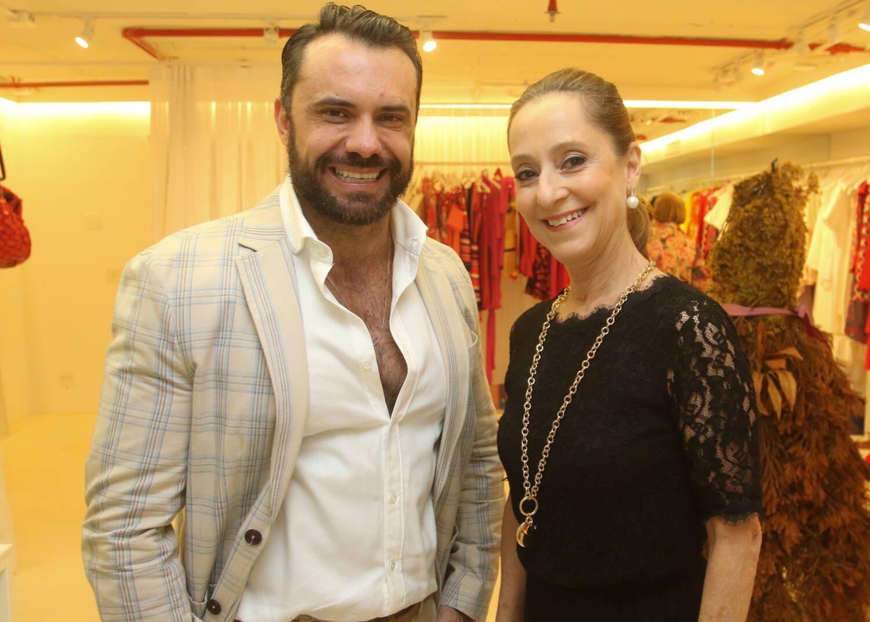 Edu Santos e Ana Botafogo / Foto: Eny Miranda
