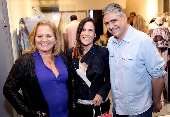 Renata Fraga, Helena Duncan e Toni Oliveira