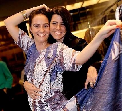 Kiki Simão e Alessa Migani
