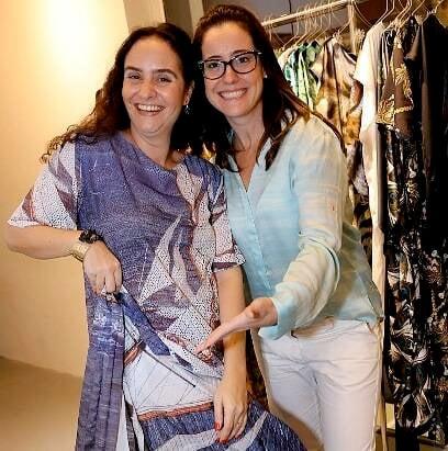 Alessa Migani e Mariana Morato