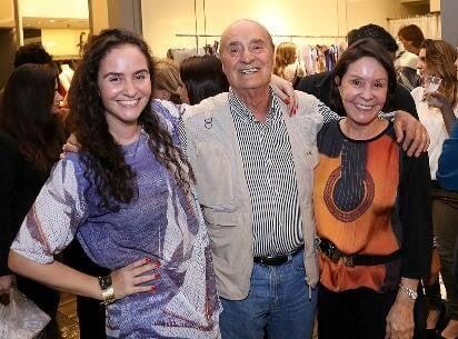 Alessa, Alfredo e Vera Migani