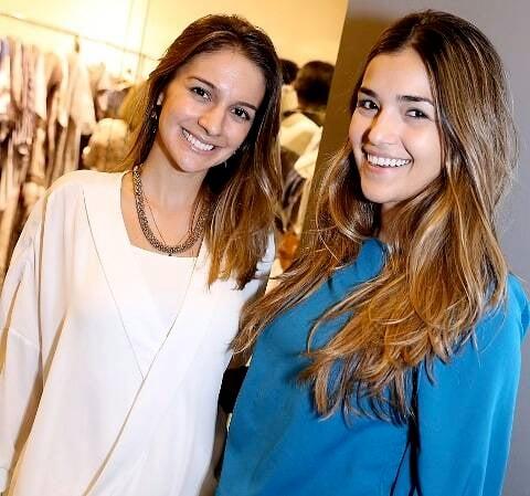 Manoela Barcellos e Mirela Manso