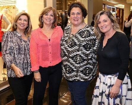Marcia Alvarez, Graziela Prado, Valeria Pinho e Katia Gambroni