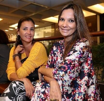Cristiana Menezes e Cristina Vieira