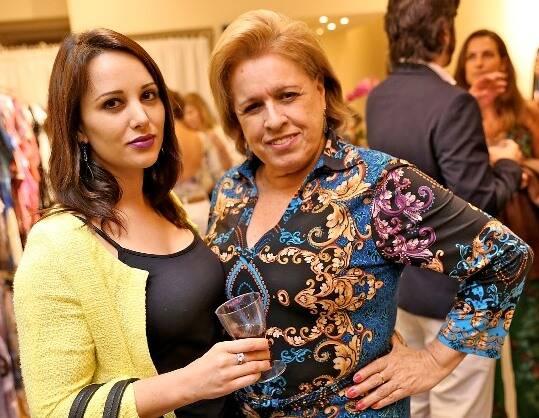 Sabrinna Zanini e Regina Celia Pereira