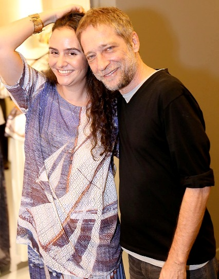 Alessa Migani e Luis Stein