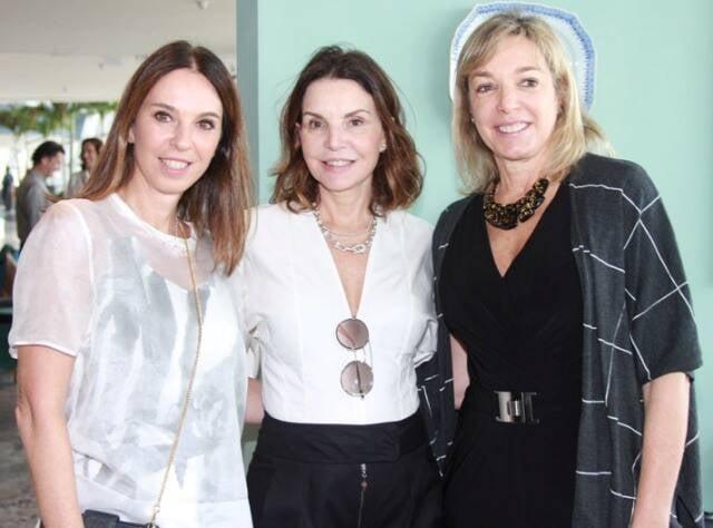 Esther Schattan, Patricia Mayer e Anette Rivkind