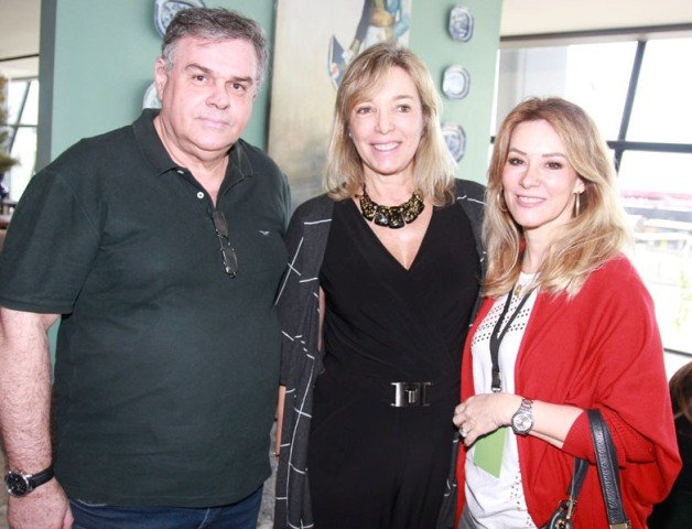 Manolo Gonçalves, Anette Rivkind e Cristina Japiassu