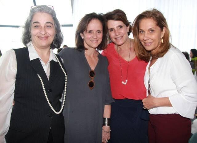 Ana Eliza Roder, Patricia Quentel, Renata Amaral e Bebel Sampaio