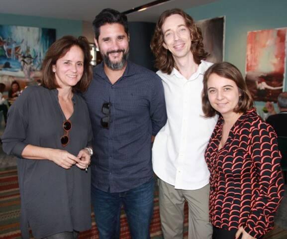 Patricia Quentel, Fabio Bouiller, Raul Moraes e Fernanda Bessone
