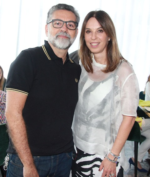 Ivan Rezende e Esther Schattan