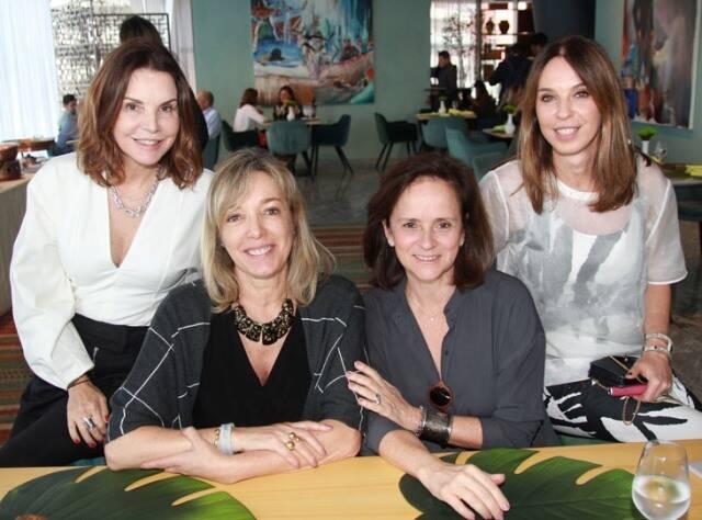 Patricia Mayer, Anette Rivkind, Patricia Quentel e Esther Schattan