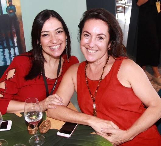 Cristina Cortes e Débora Wilcox