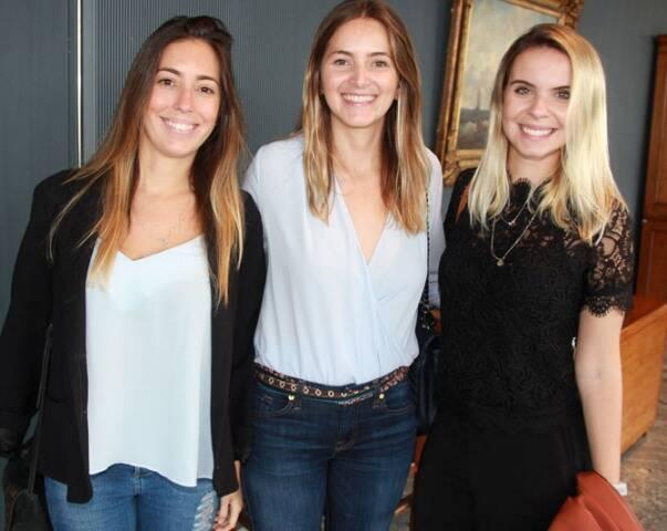 Juliana Acar, Flávia Novaes e Mônica Zoellner