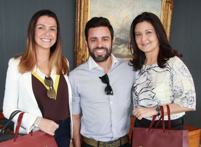 Amanda Ambrósio, Ugo Nitzsche e Márcia Morelli