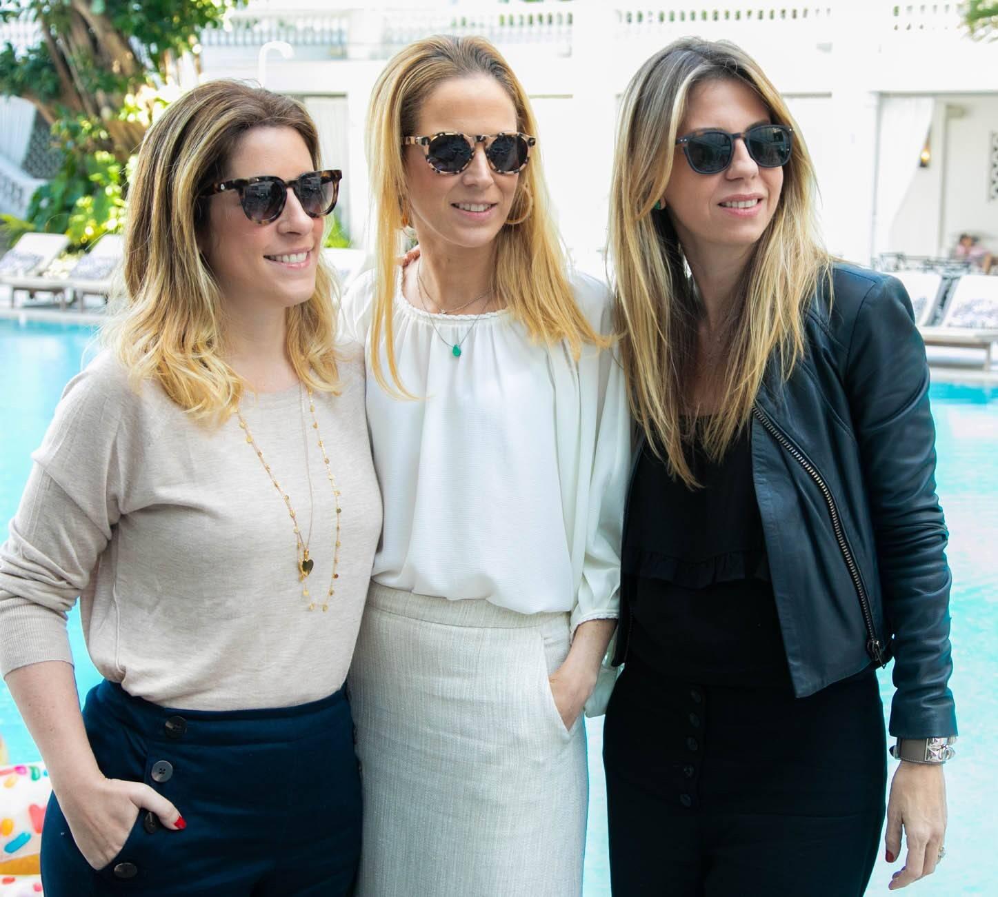 Cristiana Villela, Mariana Pinheiro e Viviana Penalva /Foto:Miguel Sá