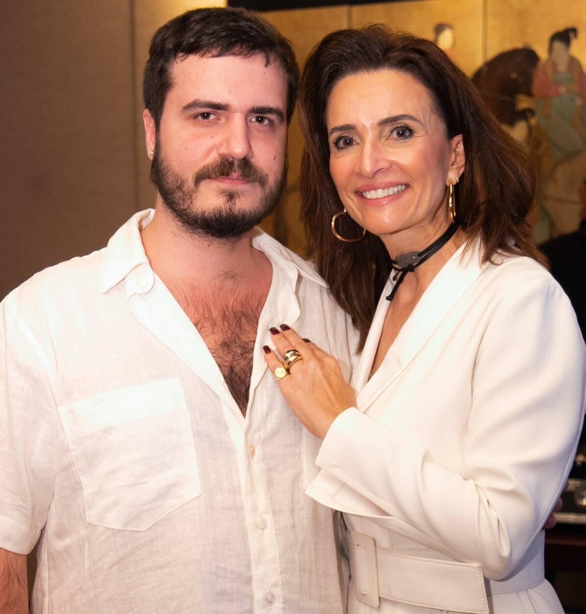 Fernando Cozendey e Andrea Natal /Foto:Miguel Sá