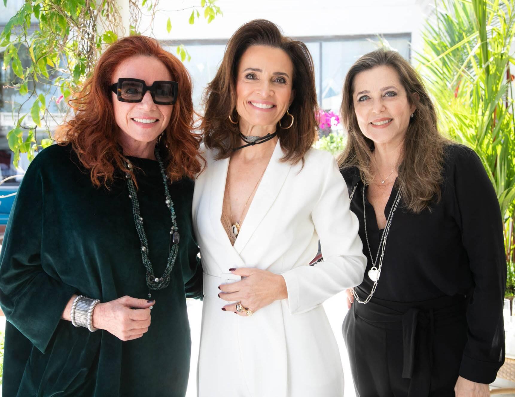 Leilane Neubarth, Andrea Natal e Andrea Repsold /Foto:Miguel Sá