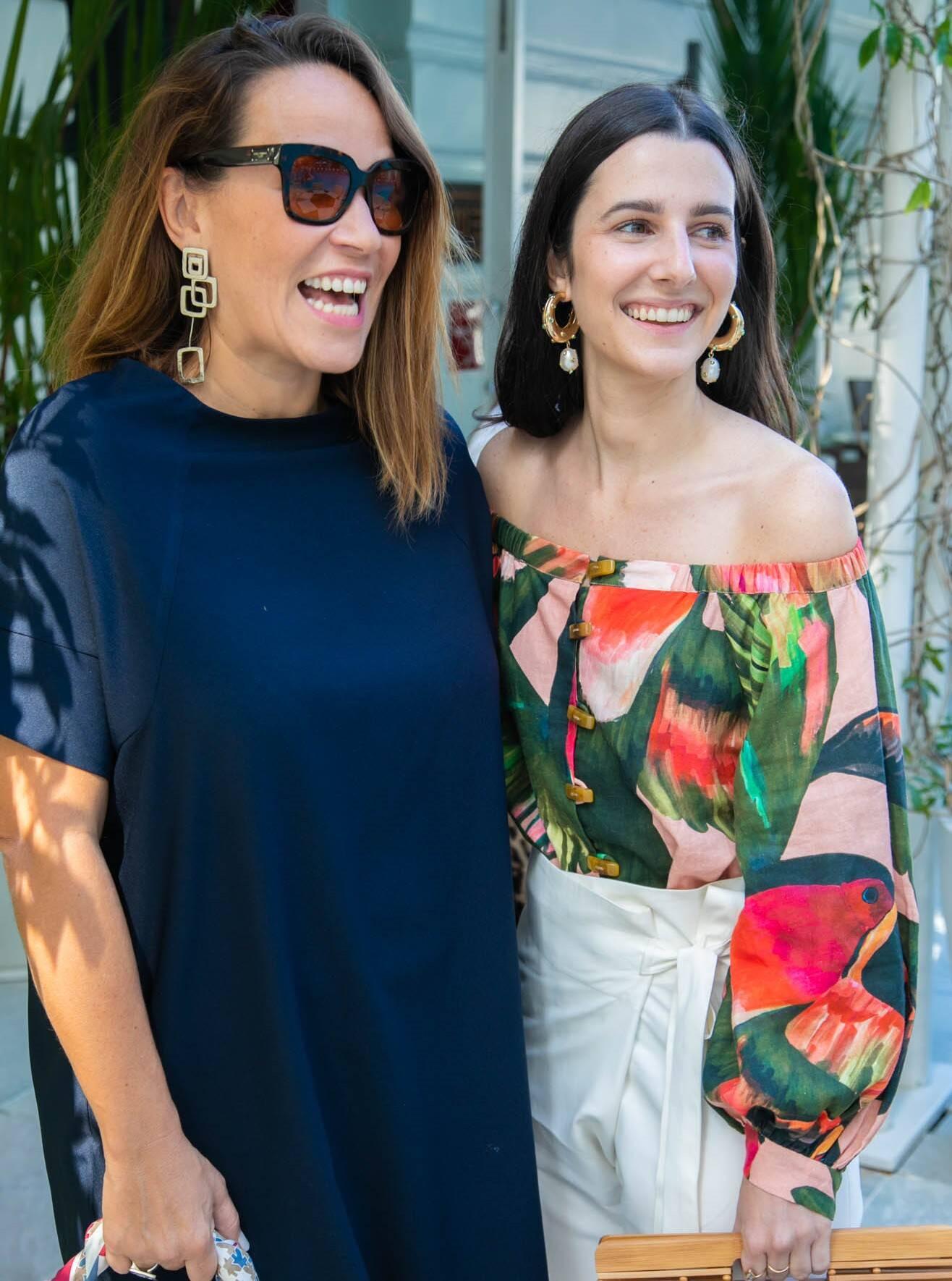 Marina Caruso e Patricia Temblais /Foto:Miguel Sá