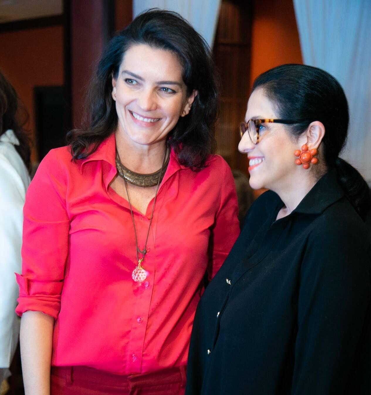 Melissa Jannuzzi e Rosana Bernardes /Foto:Miguel Sá