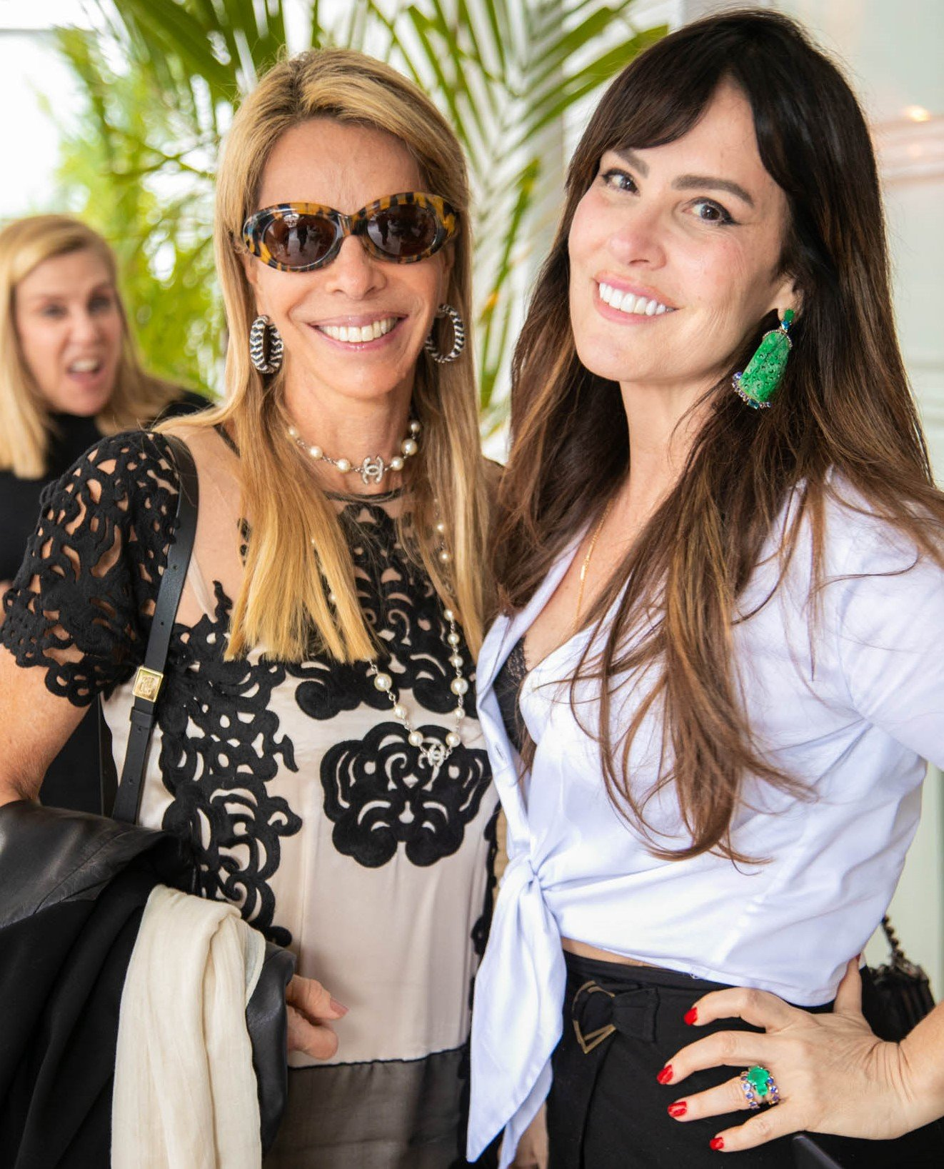 Monica Ibeas e Fernanda Lynch /Foto:Miguel Sá